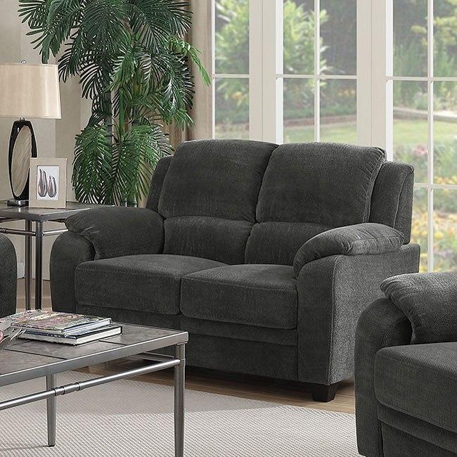 Northend Loveseat Charcoal Living Room Furniture Living