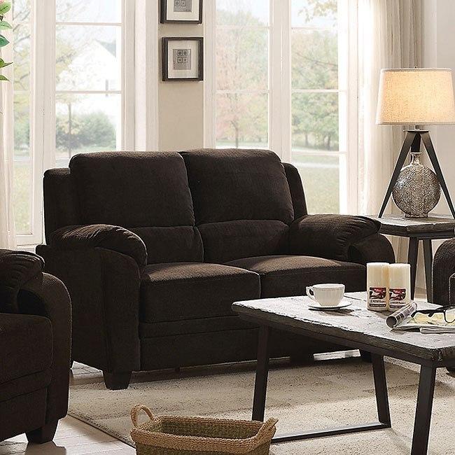 Northend Living Room Set (Chocolate)