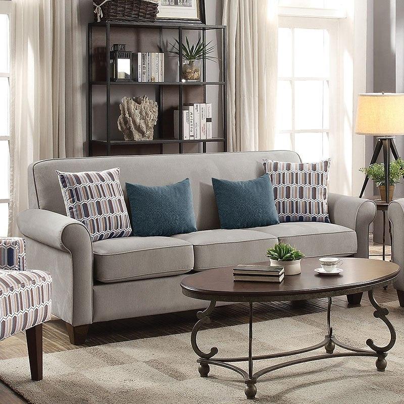 Gideon Sofa Cement By Coaster Furniture Furniturepick