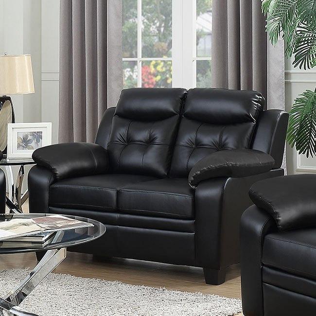 Living Room Furniture Sets Black: Finley Living Room Set (Black) By Coaster Furniture