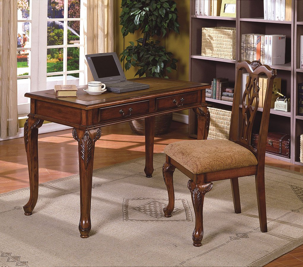 Furniture For A Best Home Office: Fairfax Home Office Desk And Chair By Crown Mark Furniture