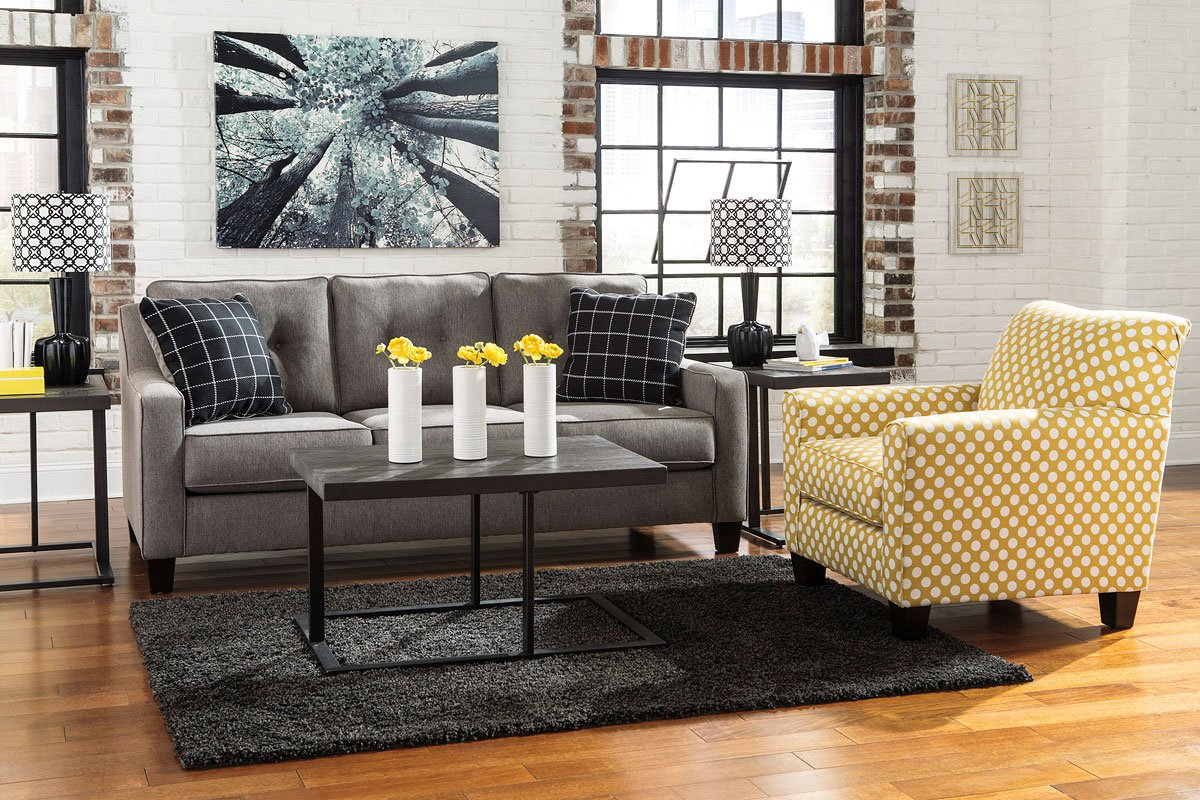 Brindon Charcoal Living Room Set By Benchcraft 2 Review S