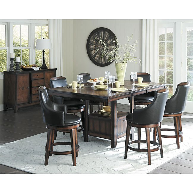 Bays Counter Height Dining Set W Storage