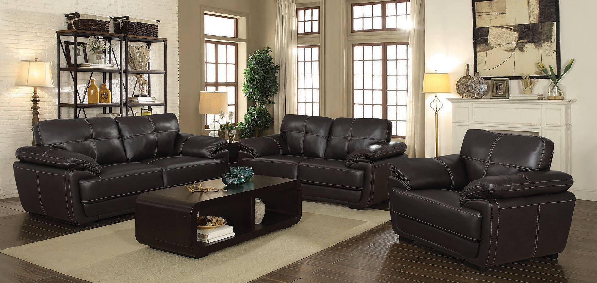 Zenon Living Room Set Brown Living Room Sets Living