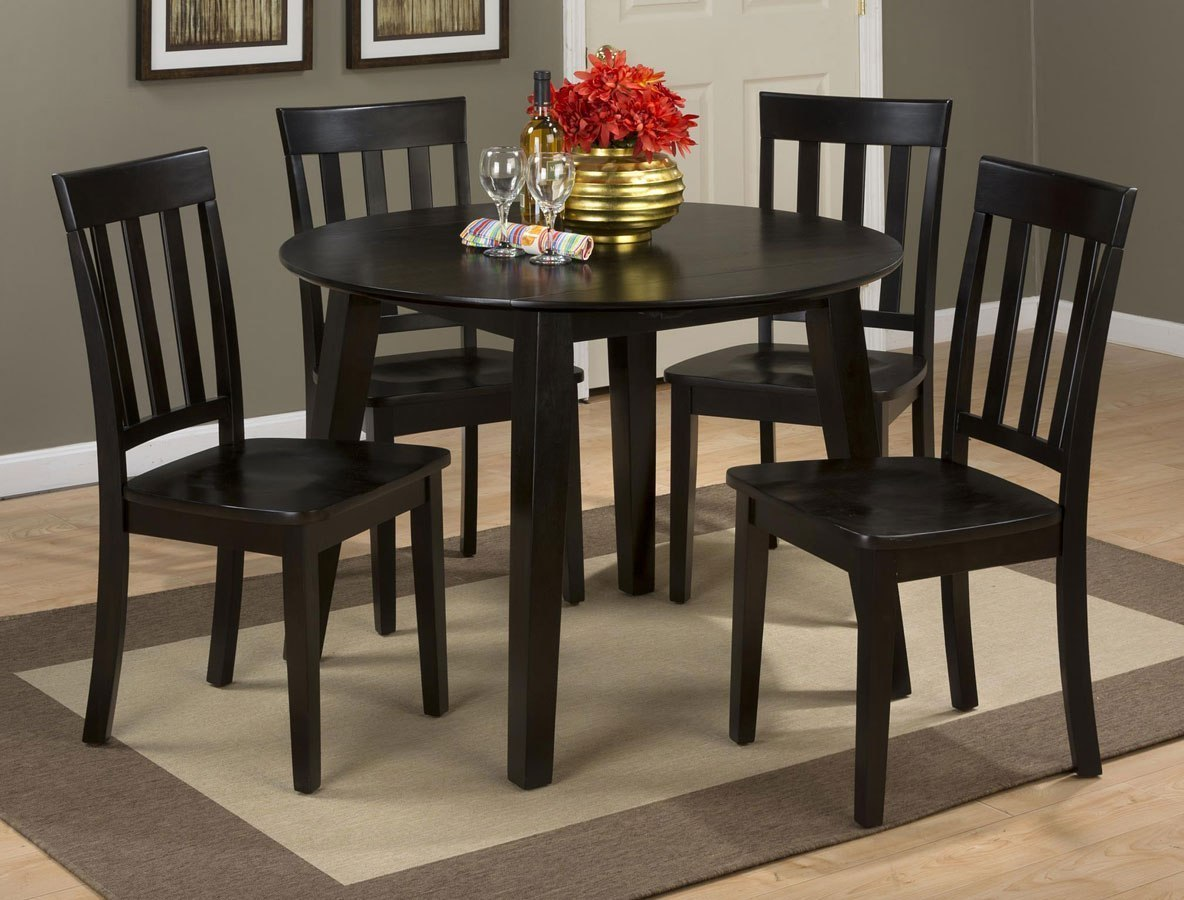 Espresso Dining Room Table With Leaf