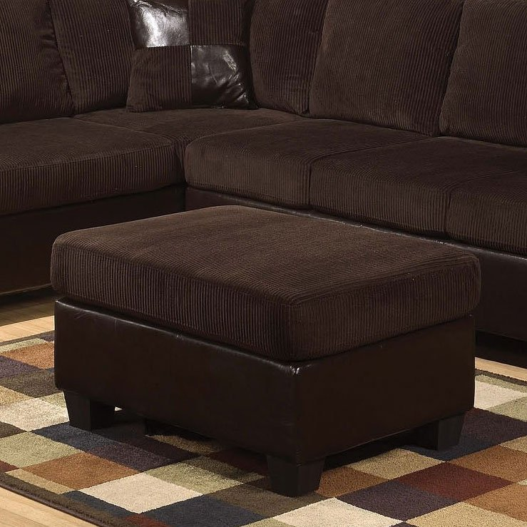 Connell Storage Ottoman Chocolate By Acme Furniture
