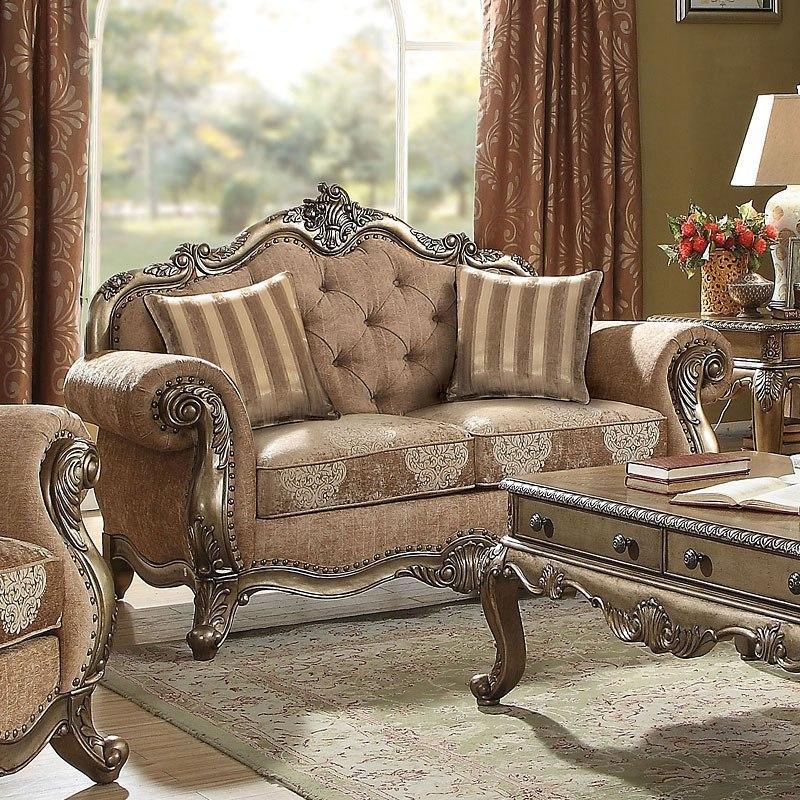 Retro Living Room Furniture Sets: Ragenardus Living Room Set (Vintage Oak) By Acme Furniture
