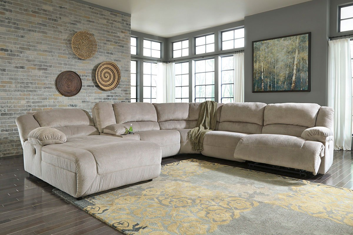 Toletta Granite Modular Reclining Sectional By Signature Design Ashley 3 Review S Furniturepick