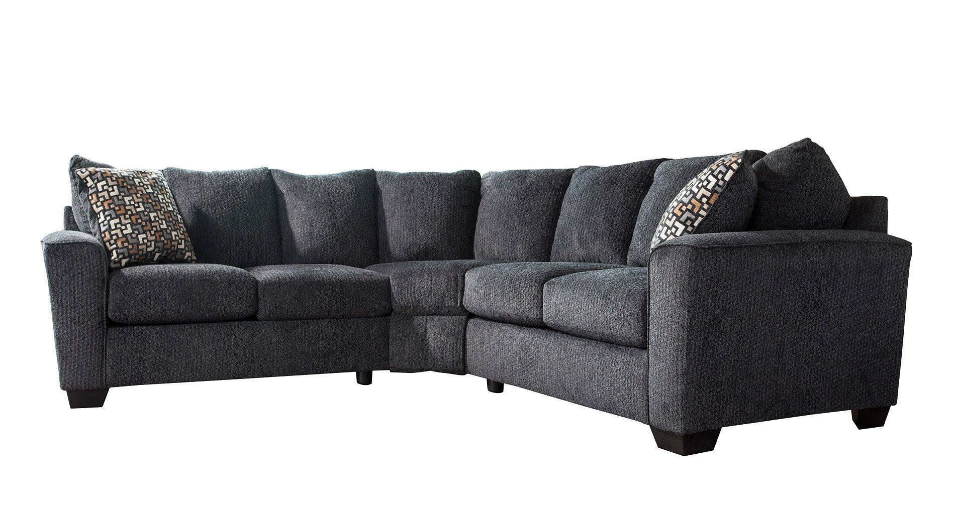 Sensational Wixon Slate Sectional Caraccident5 Cool Chair Designs And Ideas Caraccident5Info