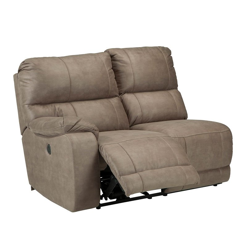 Bohannon Taupe Modular Power Reclining Sectional Set By