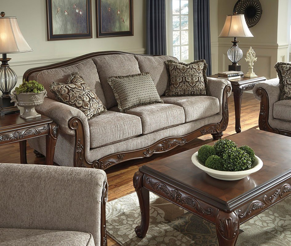 Cecilyn Cocoa Living Room Set by Signature Design by ...
