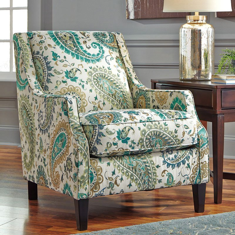 Lochian Jade Accent Chair - Accent Chairs - Living Room ...