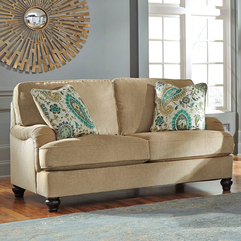Lochian Bisque Loveseat By Benchcraft 1 Review S