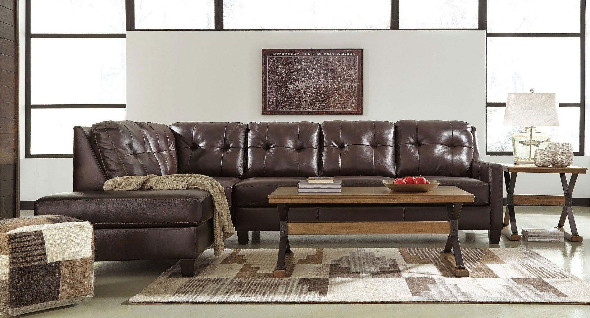 Okean Mahogany Sectional Set Living Room Sets Living