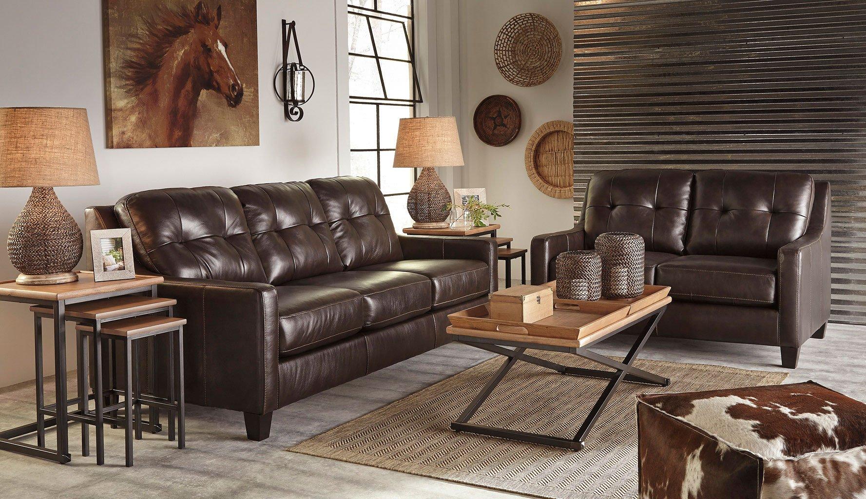 Okean Mahogany Living Room Set Living Room Sets Living