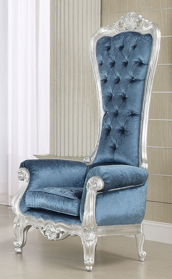 Tremendous Raven Accent Chair Blue Gmtry Best Dining Table And Chair Ideas Images Gmtryco