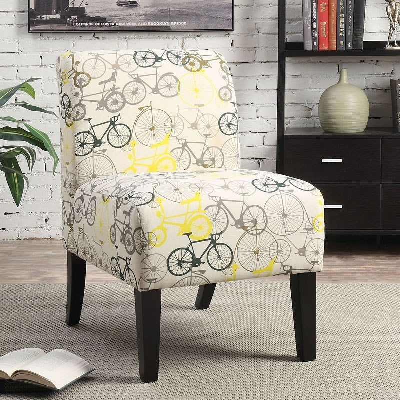 Ollano Accent Chair Bike By Acme Furniture Furniturepick