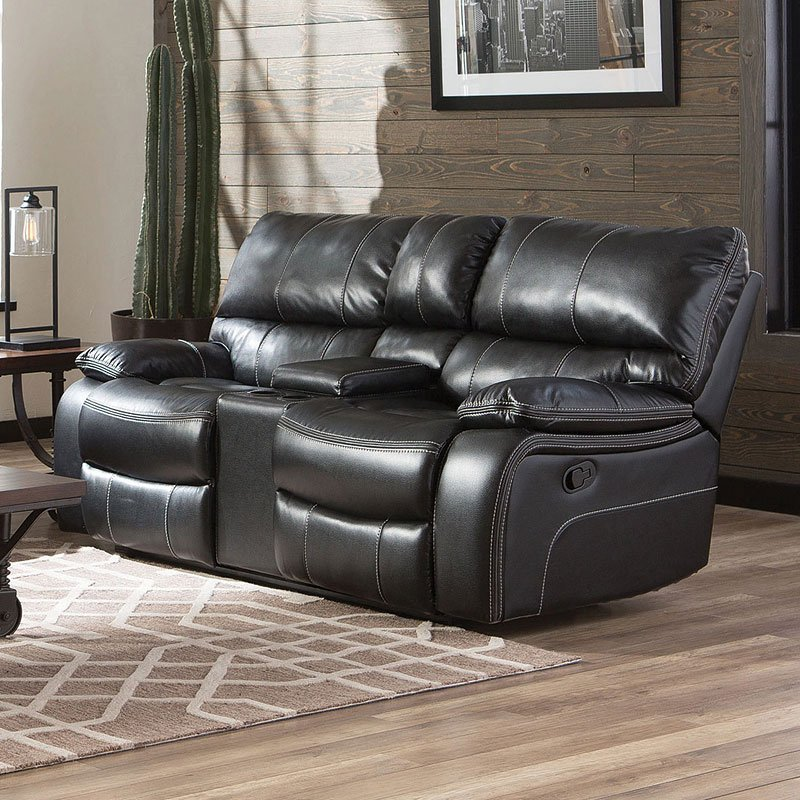 Incredible Willemse Reclining Loveseat Black Gmtry Best Dining Table And Chair Ideas Images Gmtryco