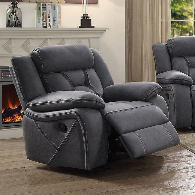 Houston Glider Recliner (Stone) By Coaster Furniture