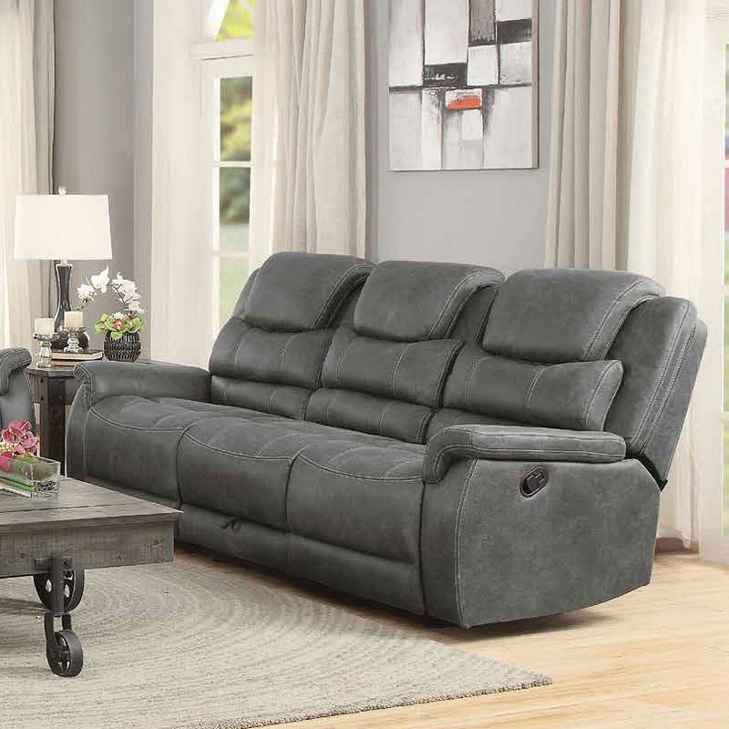 Wyatt Reclining Sofa W Drop Down Table