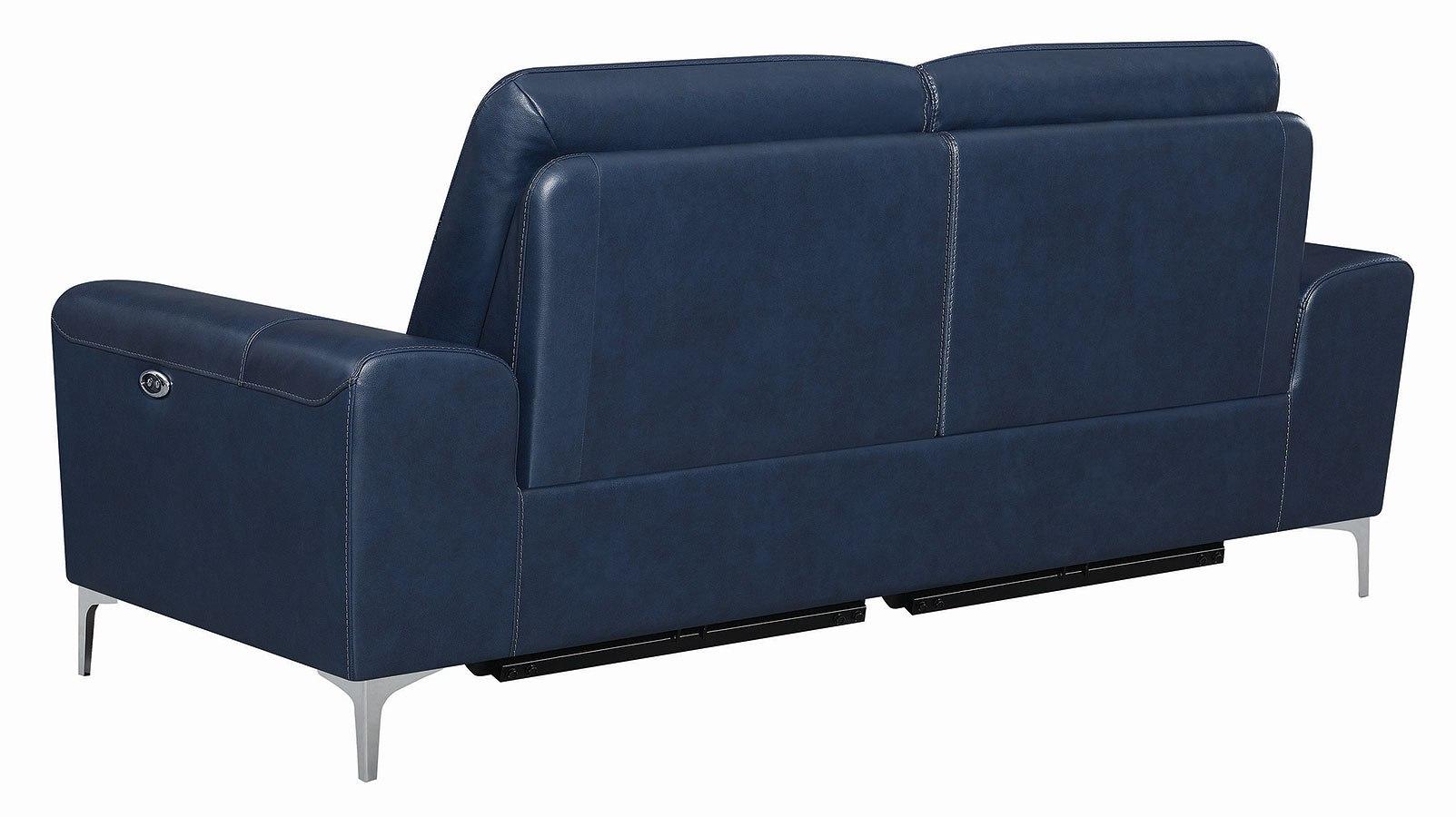 Astounding Largo Power Reclining Sofa Ink Blue Alphanode Cool Chair Designs And Ideas Alphanodeonline