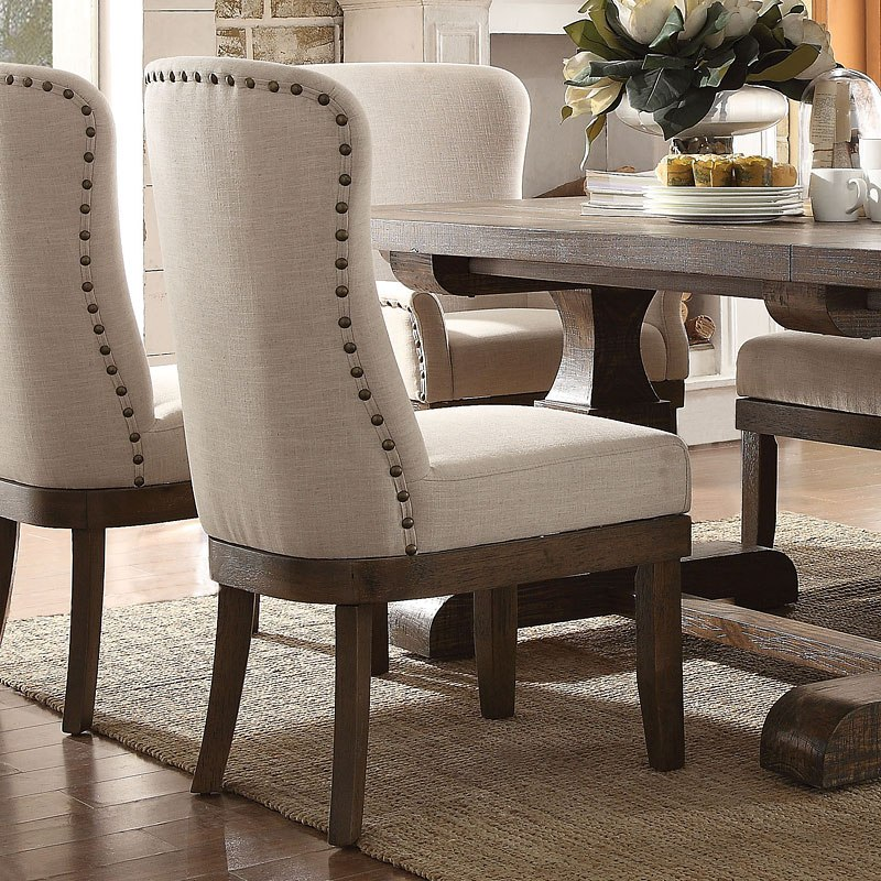 Dining Room Sets On Clearance: Landon Side Chair (Set Of 2) By Acme Furniture
