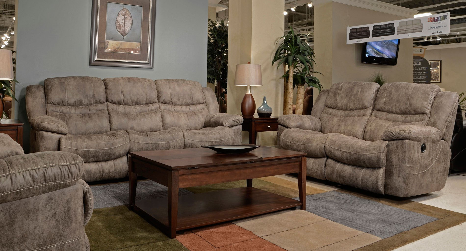 Valiant Power Reclining Living Room Set Marble Living Room Sets Living Room Furniture