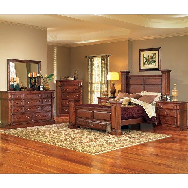 Torreon Bedroom Set (Antique Pine) - Torreon Bedroom Set (Antique Pine) - Bedroom Furniture - Bedroom