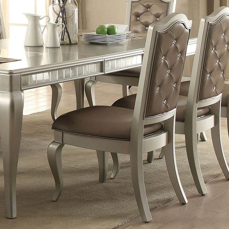 Francesca Side Chair Set Of 2 By Acme Furniture