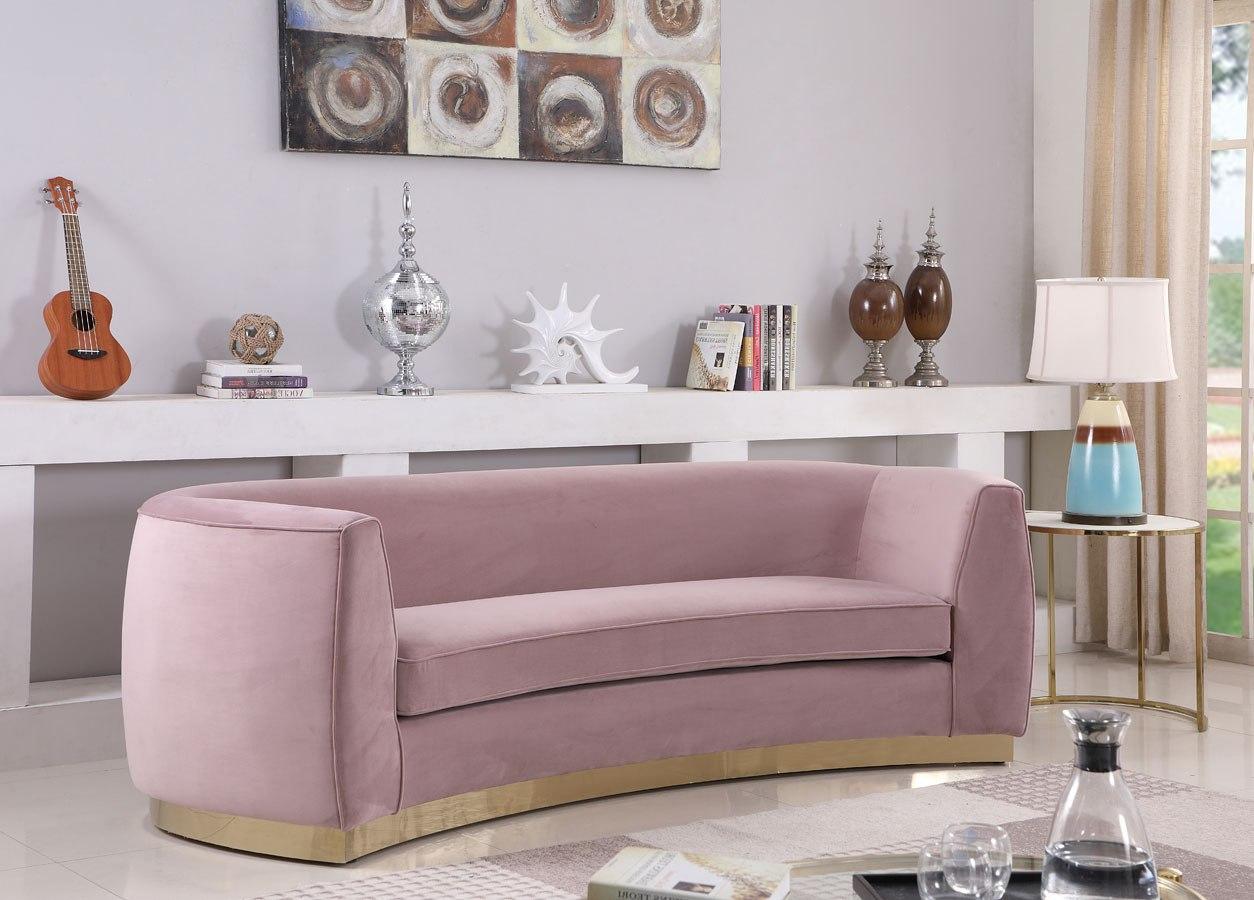 Julian Sofa Pink Gold