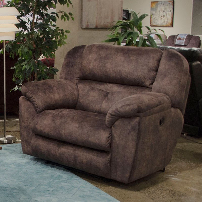 Carrington Lay Flat Reclining Living Room Set (Dusk) By