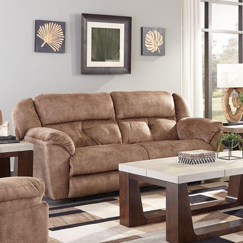 Carrington Power Lay Flat Reclining Sofa (Silt) by Catnapper ...