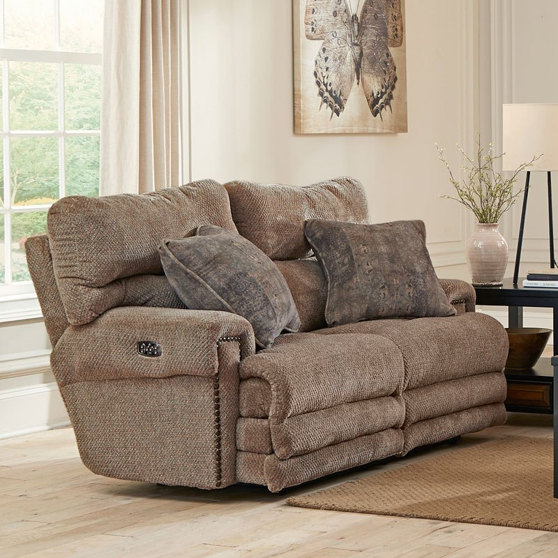 Garrison Power Lay Flat Reclining Living Room Set W/ Power