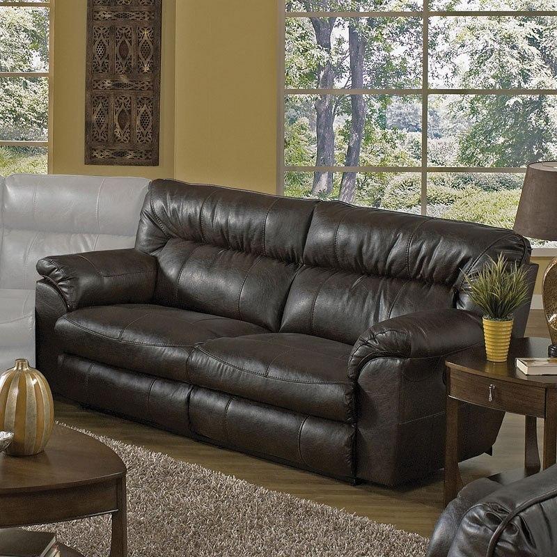 Nolan Power Extra Wide Reclining Sofa Godiva By