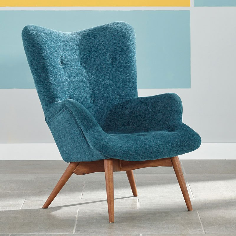 turquoise living room chair pelsor turquoise accent chair accent chairs living 15261