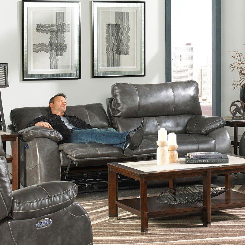 Brilliant Sheridan Power Lay Flat Reclining Sofa Steel Alphanode Cool Chair Designs And Ideas Alphanodeonline