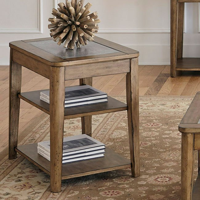Weatherford Chairside Table By Liberty Furniture
