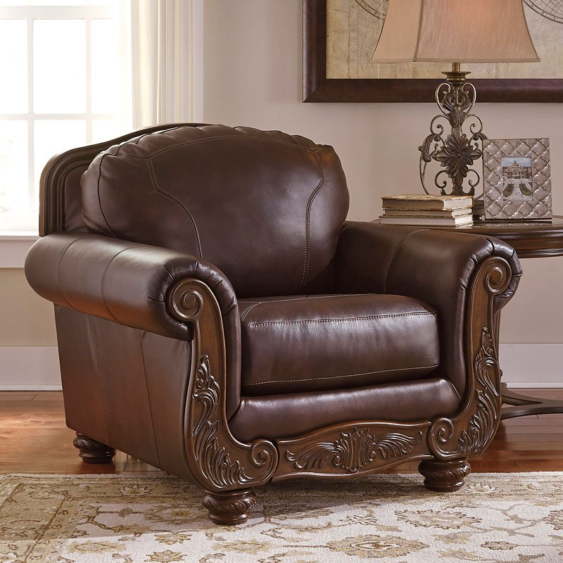 Mellwood Walnut Chair Chairs Living Room Furniture Living Room