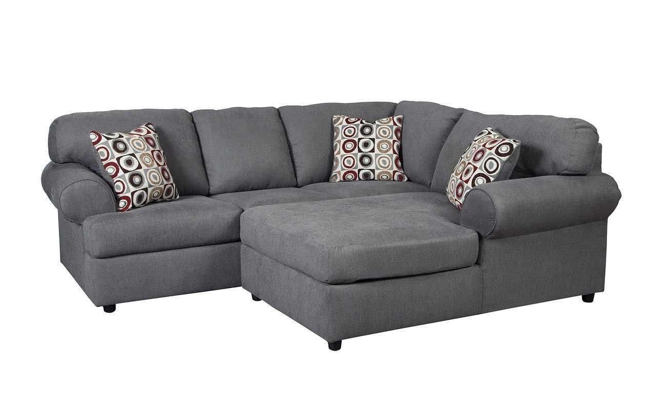 Jayceon Steel Small Right Chaise Sectional by Signature ...