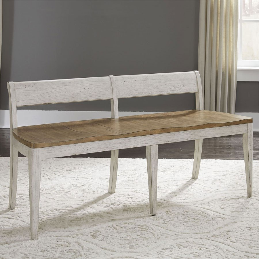 Farmhouse Reimagined Rectangular Dining Set W/ Upholstered