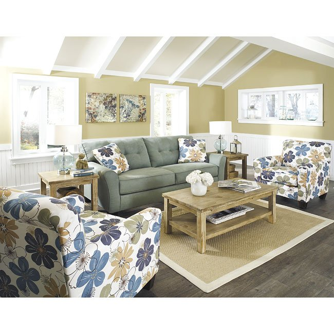 kylee lagoon living room set kylee lagoon living room set by signature design by 18787