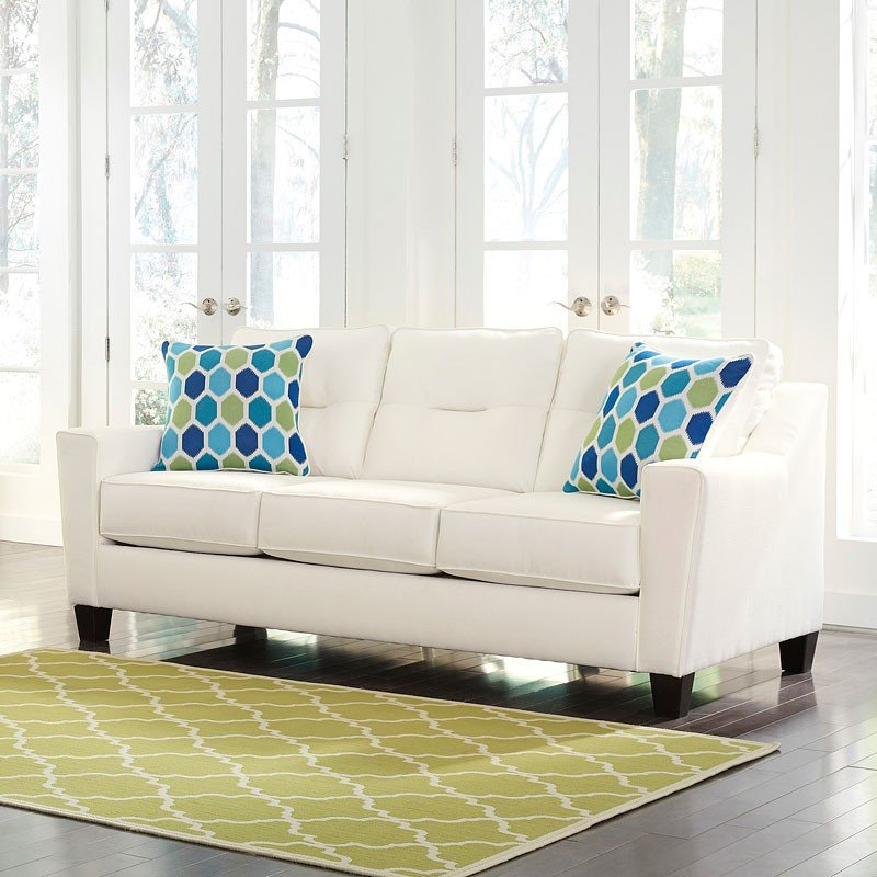 Forsan Nuvella White Living Room Set By Benchcraft, 2