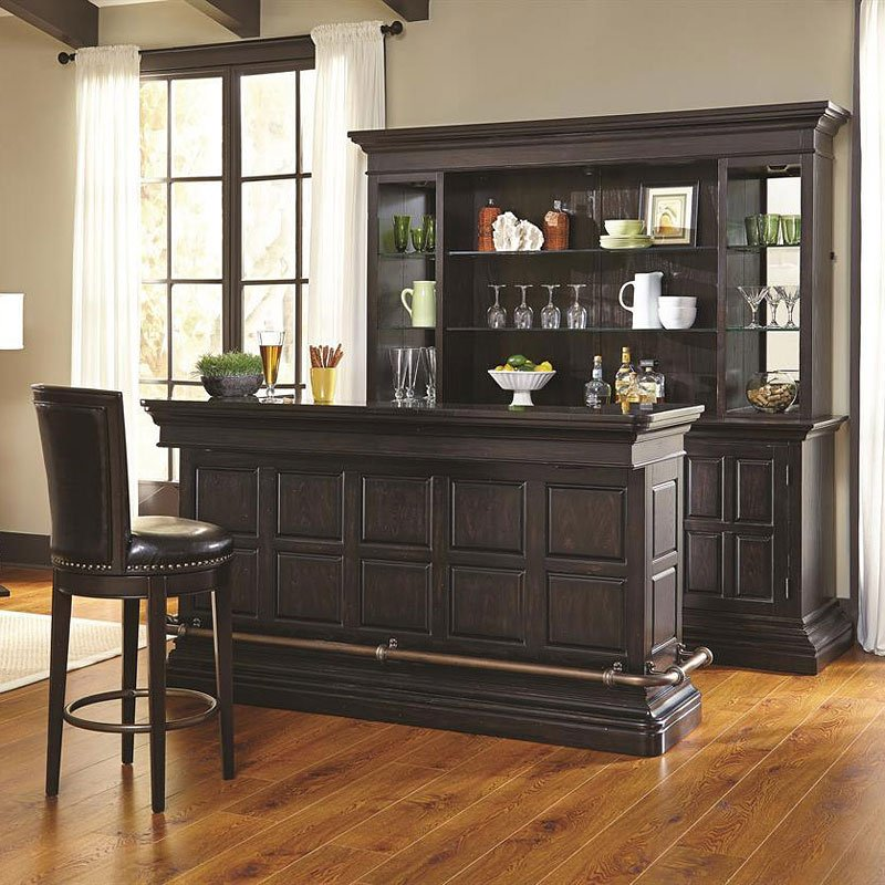 Burton Home Bar Set Pulaski Furniture Furniturepick