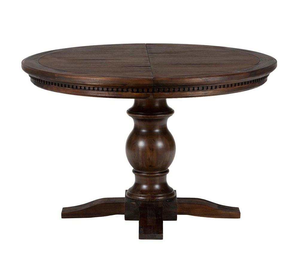 geneva hills round to oval dining table by jofran furniture furniturepick. Black Bedroom Furniture Sets. Home Design Ideas