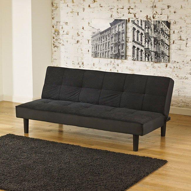 Vara Black Flip Flop Sofa