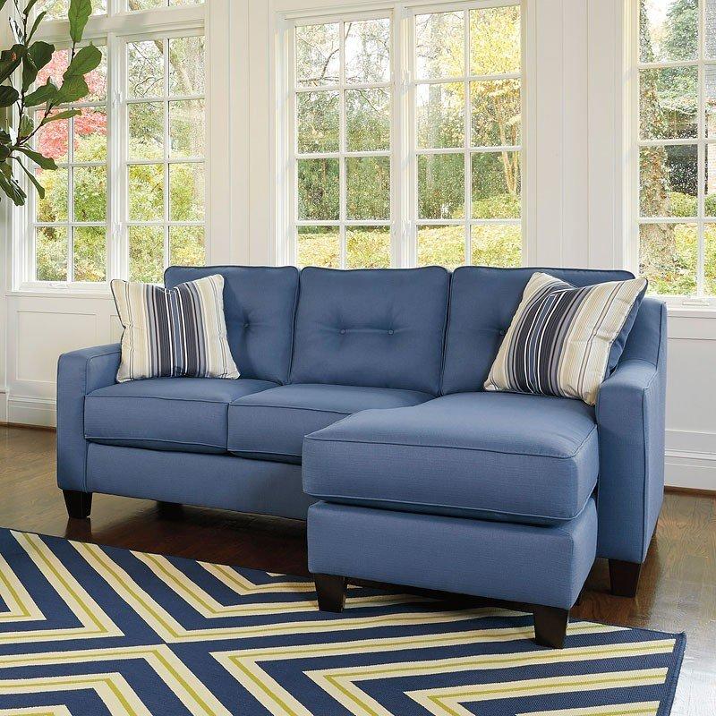Aldie Nuvella Blue Living Room Set by Benchcraft | FurniturePick