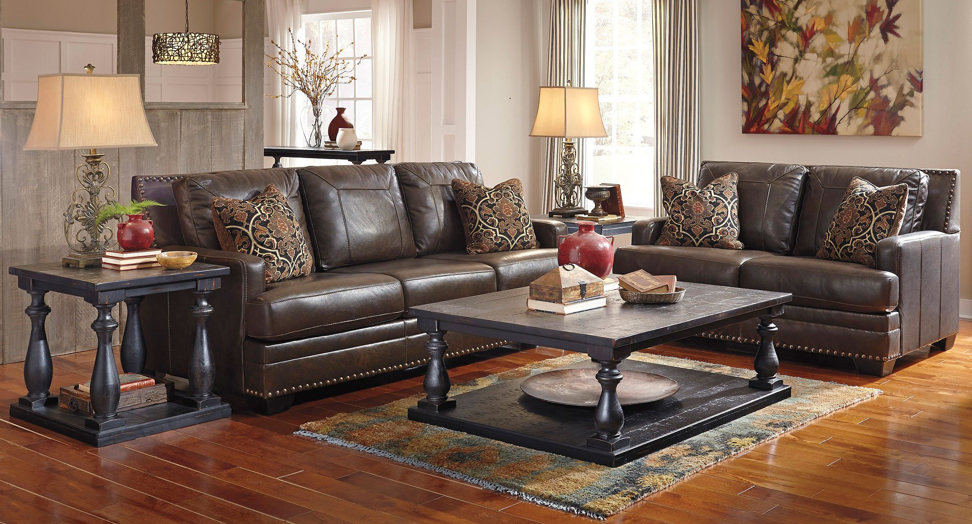 vintage living room furniture sets corvan antique living room set by signature design by 21514