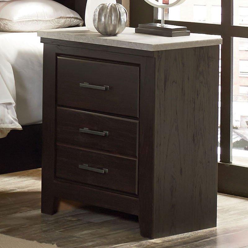 Stonehill Dark Nightstand By Standard Furniture