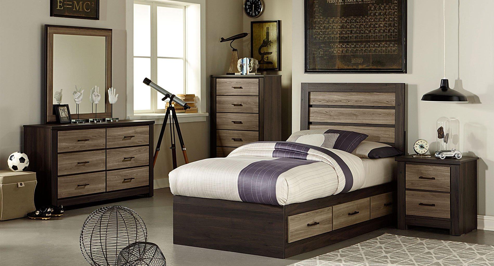oakland captains bedroom set by standard furniture furniturepick. Black Bedroom Furniture Sets. Home Design Ideas