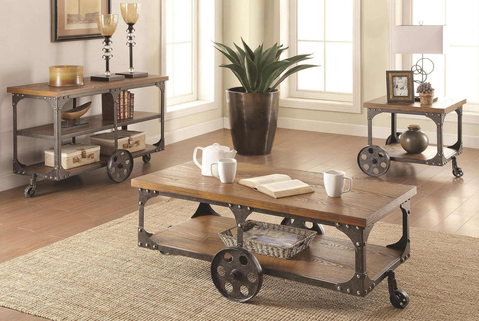 Industrial Occasional Table Set By Coaster Furniture